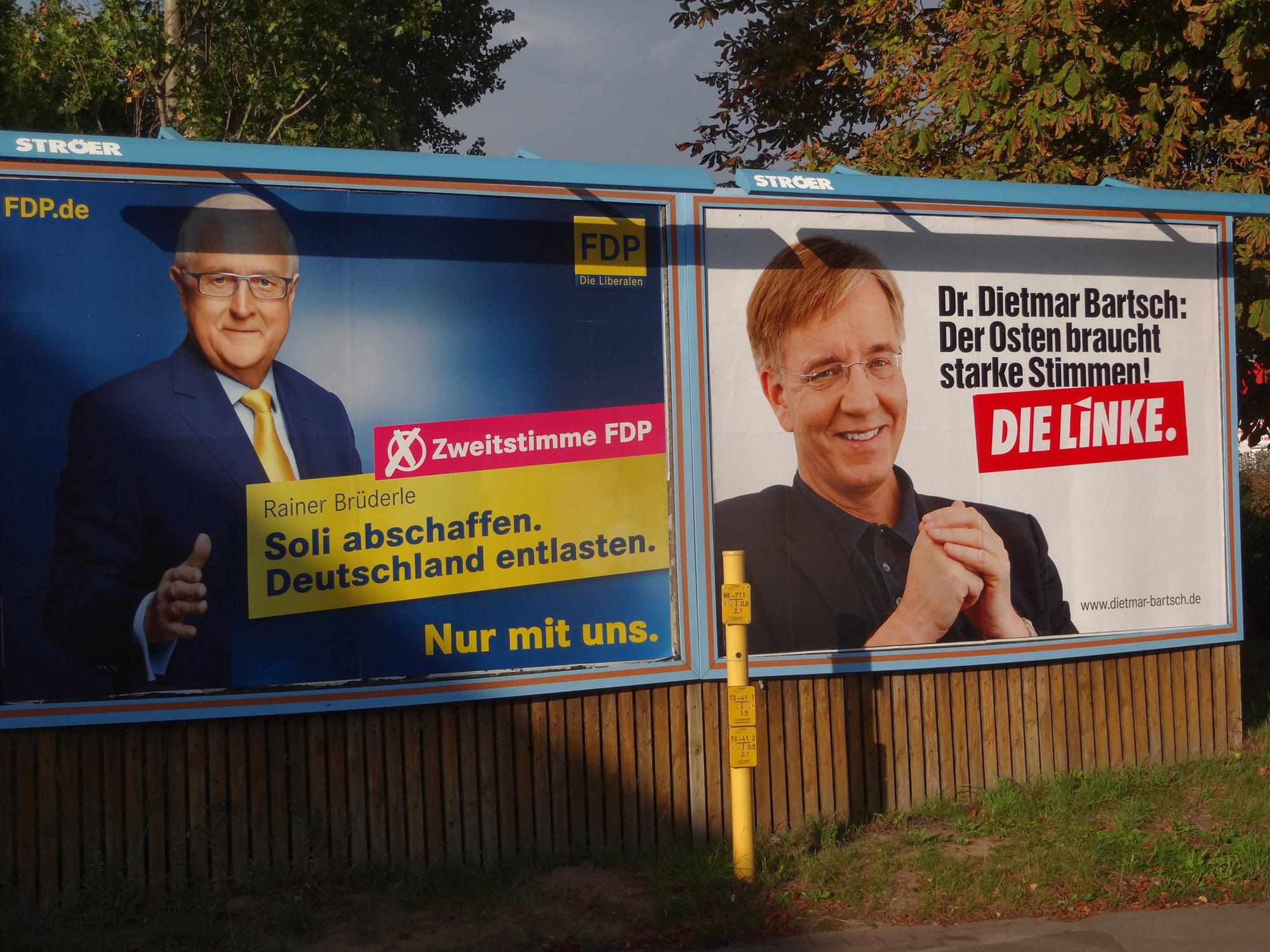 FDP wirbt gegen den Soli in Schwerin